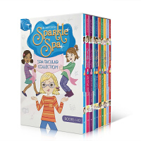 英文原版Sparkle Spa Spa-tacular Collection Books 1-10 闪亮的Spa水疗中