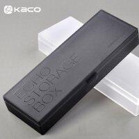 KACO文具PP笔盒塑料磨砂透明简约时尚小清新文具盒男女孩小学生DIY儿童创意铅笔盒
