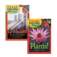 英文原版time for kids植物自然现象系列2本套装6-8岁科普读物