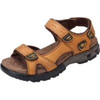 CAMEL骆驼男凉鞋 夏季新品休闲户外露趾男士鞋耐磨魔术贴凉鞋