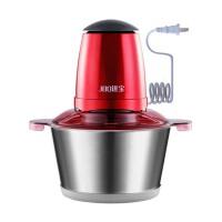 家用绞肉机电动蒜泥机器绞菜机搅拌机绞馅机商用搅肉机 2升钢杯