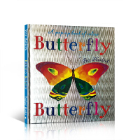 ��S包�] 英文原版��籍 Butterfly Butterfly A Book of Colors Petr Horace