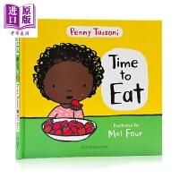 【中商原版】吃的能力 Time to Eat 行为习惯养成 幼儿健康饮食 Penny Tassoni 亲子共读绘本 英文