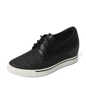 Teenmix/天美意专柜同款牛皮革女皮鞋6M125CM6 专柜1