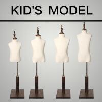 模特道具半身橱窗展示架童装人台男童女童小孩半服装模特架童装服装店拍摄衣架童模道具