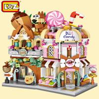 LOZ/俐智小颗粒积木迷你街景益智拼插儿童玩具拼装模型男女孩