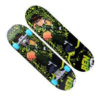 儿童滑板玩具枫木平板闪光轮四轮滑板车初学者滑板