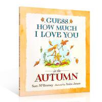 英文原版亲子绘本Guess How Much I Love You in the Autumn 猜猜我有多爱你秋季篇
