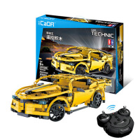 拼装积木儿童大黄蜂汽车电动模型10-12岁遥控车男孩玩具