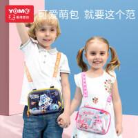 """yome�和�斜挎包女�r尚可�坌""""�公主潮男孩背包挎包迷你女童包包"""