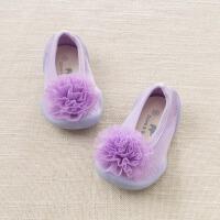 戴维贝拉春季新款女童室内家居鞋袜 宝宝鞋袜DB7608