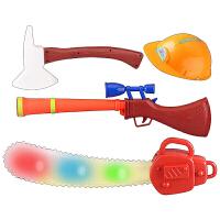 光头强电锯 儿童 伐木锯光头强玩具 熊出没电锯玩具枪套装 声光音乐投影2-5-9岁男孩礼物 配送电池+贴纸+小水枪+立