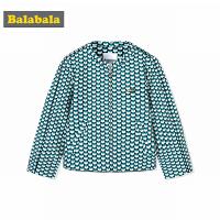 巴拉巴拉童装儿童棒球服女童外套中大童秋装2017新款休闲长袖外衣