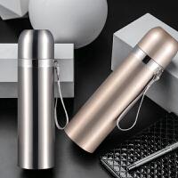 保温杯不锈钢子弹头学生儿童保温壶便携水杯瓶男女定制杯子