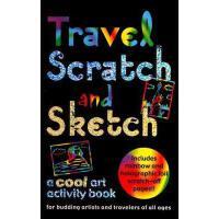 【预订】Travel Scratch and Sketch: A Cool Art Activity Book
