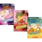 英文原版 Time Jumpers 时间旅行者4册 学乐大树系列 Branches 儿童桥梁章节书 英语学习读物 小学