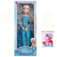 20190712110405061冰雪奇缘娃娃玩具公主洋娃娃芭芘礼盒套装艾莎安娜礼物单个