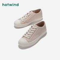 热风女士灯芯绒休闲鞋H13W9135
