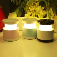 创意炫彩LED伸缩灯护眼台灯卧室床头灯充电小夜灯USB氛围起夜台灯