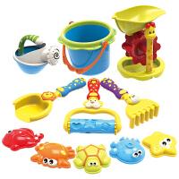 儿童沙滩玩具套装 铲子 沙漏 宝宝挖沙戏水玩具