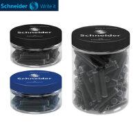 德国Schneider施耐德钢笔墨水胆墨囊瓶装欧标施耐德钢笔通用墨胆