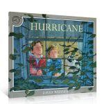 英文原版书绘本Hurricane 汪培�E第五5阶段 美国儿童文学大卫・威斯纳 凯迪克大奖作者作品 4-8岁英语学习启蒙