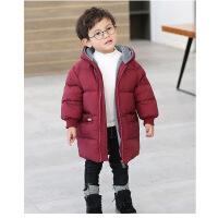 冬装反季羽绒服男童女童1宝宝2加厚3中长款4潮0-6岁小童5婴幼儿童