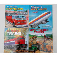 交通工具介绍4本套装All Aboard Airplanes All Aboard Fire Trucks All A
