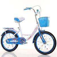 儿童自行车20寸6-7-8-9-10-16岁16寸新款女童小孩学生公主式单车