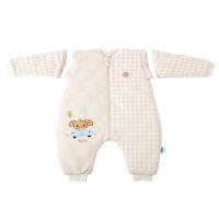【当当自营】萌宝(Cutebaby)萌宝婴儿彩棉可爱象分腿睡袋 150g 100cm
