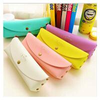【用券后9.9元包邮】YL835 韩国PVC盒装可爱时尚创意简约马卡龙糖果色笔袋