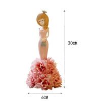 日式韩式可爱卡通花仙子树脂摆件创意新年新房礼品饰品