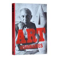 英文原版 ART VISIONARIES艺术的幻想 艺术大师画册书籍