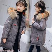 冬季女童羽绒服中长款反季品牌韩版加厚宝宝儿童冬季亲子童装秋冬新款
