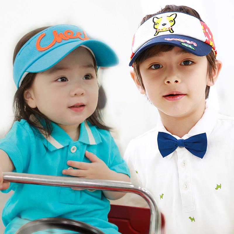 kk树儿童帽子棒球帽鸭舌帽宝宝帽子男女童帽子小孩帽子空顶帽防晒空顶帽 透气舒适
