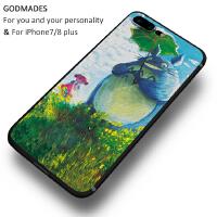 苹果8plus手机壳新款iphone6s硅胶全包个性创意7plus潮男女款可爱