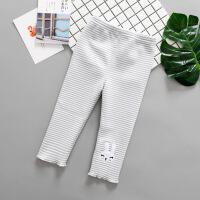 0一1-2-3-4岁春秋婴儿裤子韩版女童加绒打底裤加厚女宝宝冬装裤子