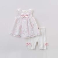 [2件3折价:98.1]戴维贝拉女童夏季新款两件套 网纱背心裙套装DB6942