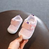 宝宝学步鞋子女男婴儿鞋不掉布鞋春秋款