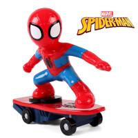 蜘蛛侠男孩玩具遥控充电特技车手办机器人模型人偶