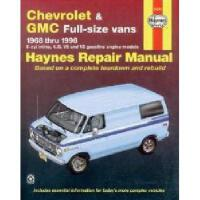 【�A�】Chevrolet & GMC Full-Size Vans 1968 Thru 1996