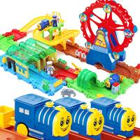 小火车套装轨道电动充电儿童玩具男孩3-4-5-6-7-9-10岁