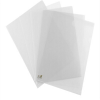 单片夹 A4单片夹 二页文件套 L型文件夹 加厚 18C