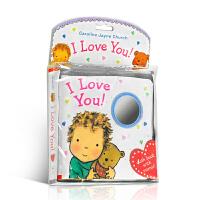 【全店300减100】英文原版 I Love You Cloth Book 布书 睡觉书 爱的晚安系列 Caroline