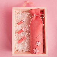 六一儿童节520男孩笔盒铅笔袋时尚潮流简约原宿日系创意个性搞怪网红款盒女520礼物母亲节 芭比粉礼盒装(笔篓) 送夹子
