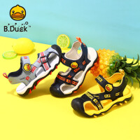 B.Duck小黄鸭童鞋男童凉鞋2020夏季新款男孩软底透气沙滩时尚凉鞋B2183915