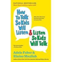 【现货】英文原版 如何说孩子才会听 怎么听孩子才肯说 How to Talk So Kids Will Listen