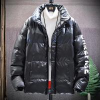 Lee Cooper 冬季御寒保暖男士外套新款光滑亮面潮流外穿个性年轻棉服 LCMYY9993