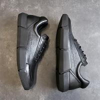 CUM 2017新款秋冬季男鞋牛皮男休闲鞋复古皮鞋男板鞋潮鞋