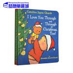 英文原版绘本 I Love You Through and Through at Christmas, Too! 爱的